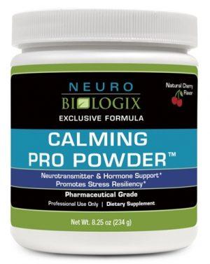 Calming Pro Powder - 60 Servings - Cherry Flavour - Neuro Biologix *SOI*