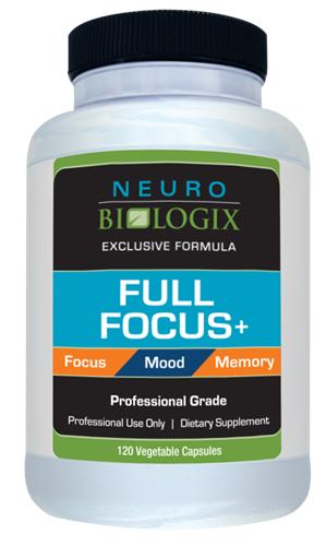 Full Focus - 120 caps - Neuro Biologix *SOI*