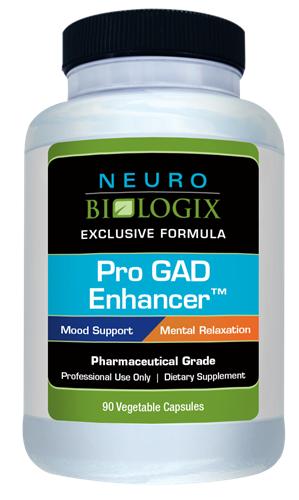 Pro GAD Enhancer - 90 caps - Neuro Biologix *SOI*