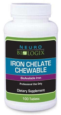 Iron Chelate - 100 capsules - Neuro Biologix *SOI*