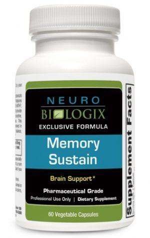 Memory Sustain - 60 caps - Neuro Biologix *SOI*