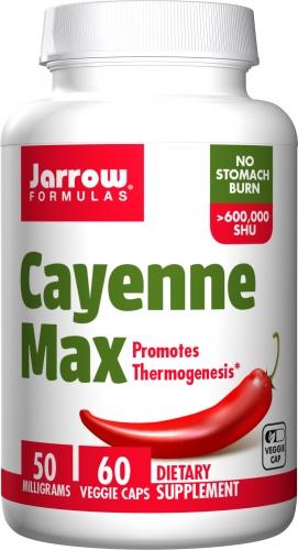 Cayenne Max - 60 Veggie Capsules - Jarrow Formulas