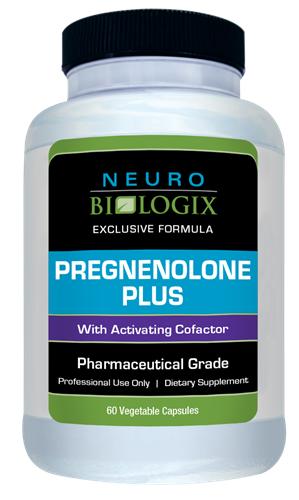 Pregnenolone Plus (60 caps) - Neuro Biologix *SOI*