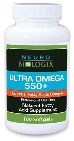 Ultra Omega 550+ (100 softgels) - Neuro Biologix *SOI*