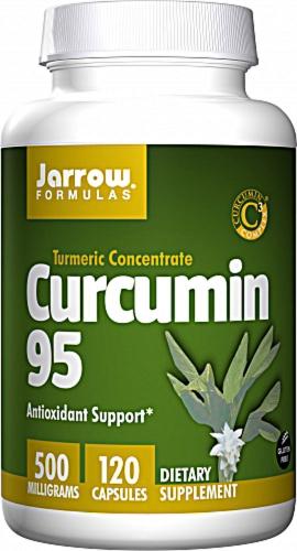 Curcumin 95, 500 mg, 120 Veggie Caps - Jarrow Formulas
