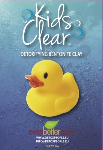 Bentonite clay (1kg) - Kids Clear Detoxifying Clay Baths