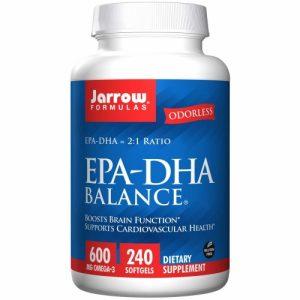 Odorless EPA-DHA Balance - 240 Softgels - Jarrow