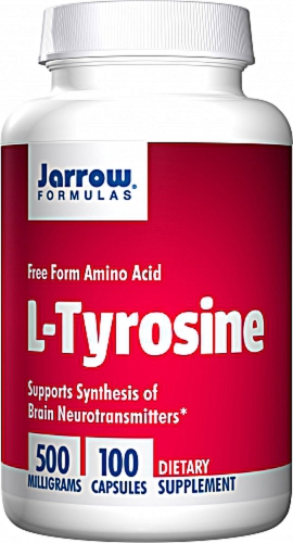 L-Tyrosine - 100 caps 500mg - Jarrow