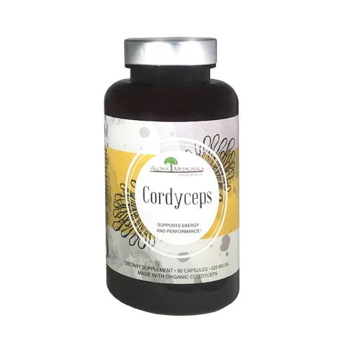 Pure Cordyceps, 90 Capsules - Aloha Medicinals Inc