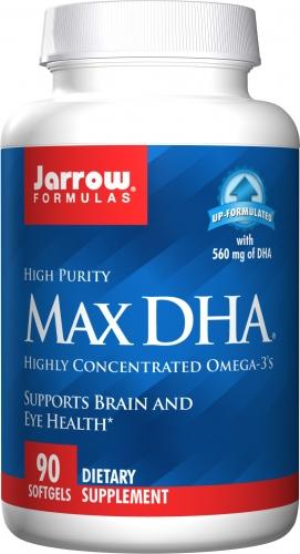 Max DHA - 90 Softgels - Jarrow Formulas
