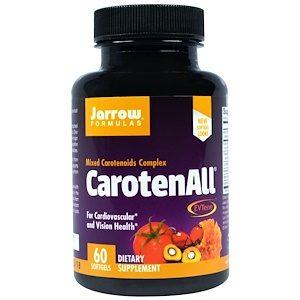 CarotenALL, Mixed Carotenoid Complex, 60 Softgels - Jarrow
