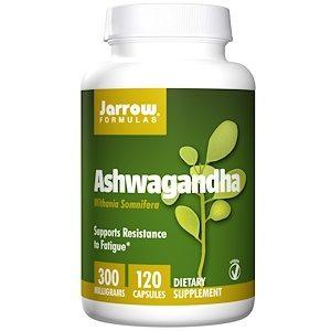 Ashwagandha, 120 Veggie Caps, Jarrow Formulas