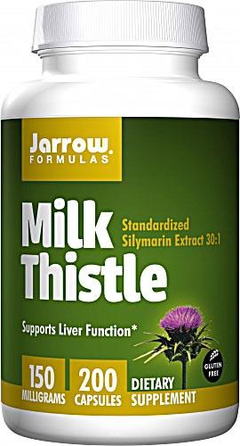 Milk Thistle - 200 caps - Jarrow