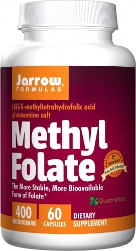 Methyl Folate, 5-MTHF 60 Veggie Caps - Jarrow Formulas