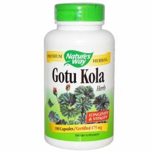 Gotu Kola, Herb, 180 Caps - Nature's Way