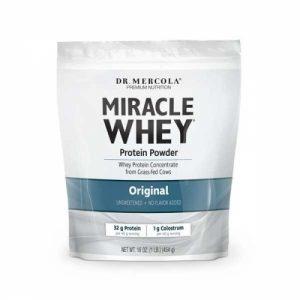 Miracle Whey, Protein Powder, Original, 1 lb (454 g) - Dr. Mercola