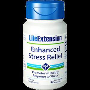 Enhanced Stress Relief Formula, 30 Veg Caps - Life Extension