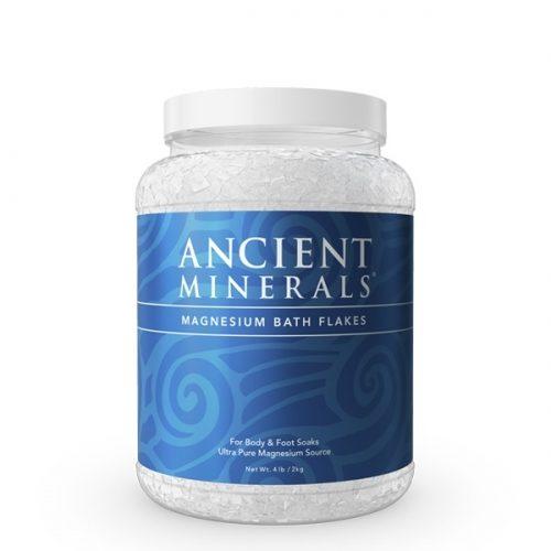 Magnesium Flakes Jar, 2kg - Ancient Minerals