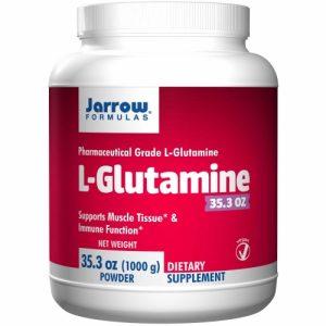 L-Glutamine, Powder, 35.3 oz 1 kg - Jarrow Formulas