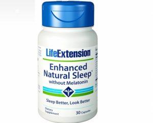 Enhanced Natural Sleep without Melatonin, 30 Capsules - Life Extension