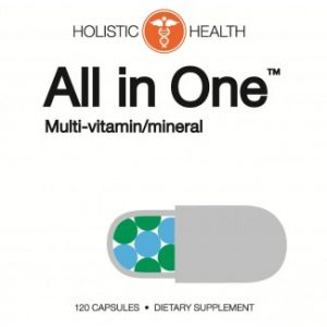 All in One™ Multi-Vitamin / Mineral 120 Capsules - Holistic Health