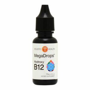 HYDROXY B12/B-12 MEGA DROPS 15 mL (.5 fl.oz) - Holistic Health - SOI**