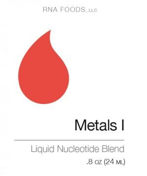 Metals I .8 oz (24ml) - Holistic Health - SOI**