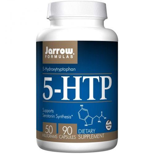 5-HTP, 5-Hydroxytryptophan, 50 mg, 90 Caps - Jarrow Formulas
