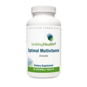 Optimal Multivitamin Chewable, 60 Tablets - Seeking Health
