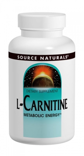 L-Carnitine, 250 mg, 120 Capsules - Source Naturals