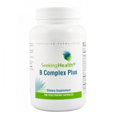 B Complex Plus - 100 Vegetarian Capsules - Seeking Health