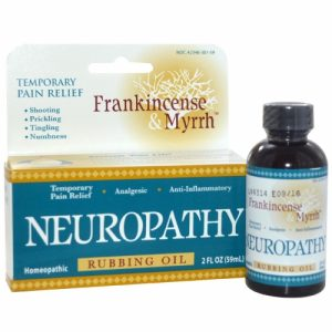 Frankincense & Myrrh, Neuropathy, Rubbing Oil, 2 fl oz (59 ml) - Frankincense & Myrrh