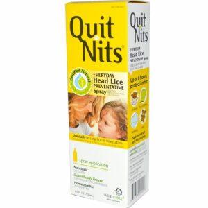 Hyland's, Quit Nits, Everyday Head Lice Preventative Spray, 4.0 fl oz (118 ml)