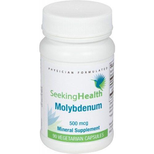 Molybdenum - 90 Vegetarian Capsules - Seeking Health