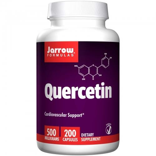 Quercetin, 500 mg, 200 Capsules - Jarrow Formulas