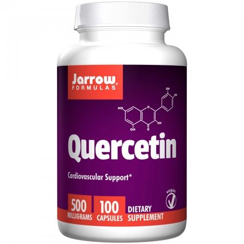 Quercetin, 500 mg, 100 Capsules - Jarrow Formulas