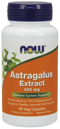 Astragalus Extract, 500 mg, 90 Veggie Caps - Now Foods
