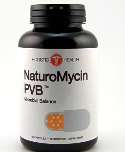 NaturoMycin™ PVB Microbial Balance 120 Capsules - Holistic Health- SOI**