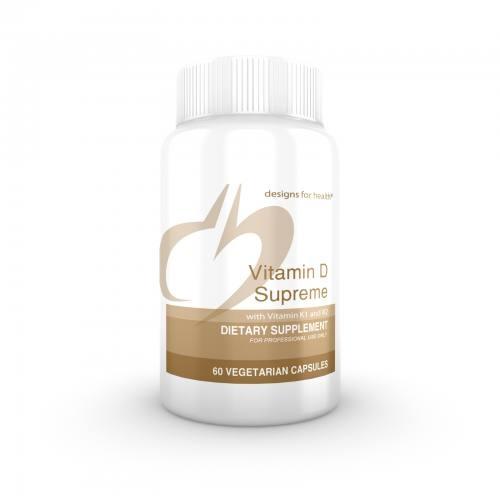 Vitamin D Supreme- 60 vegetarian capsules - Designs for Health