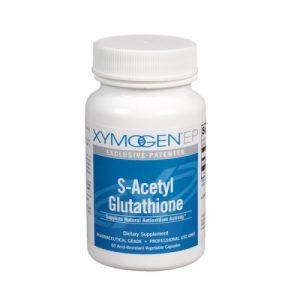 S-Acetyl Glutathione - 120 acid-resistant veg caps - xymogen - SOI**