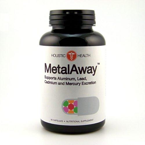 MetalAway (Metal Away) 90 Capsules - Holistic Health - SOI**