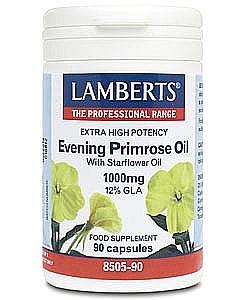 Evening Primrose Oil with Starflower Oil 1000mg - Lamberts
