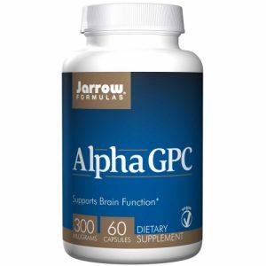 Alpha GPC 300 (300mg) 60 Veg Caps - Jarrow