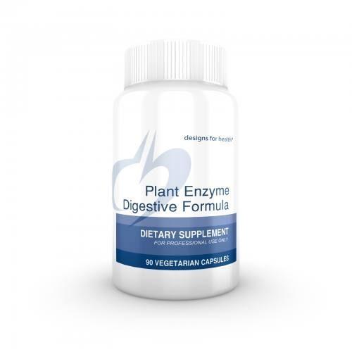 Plant Enzyme Digestive Formula 90 vegetable capsules - Designs for Health