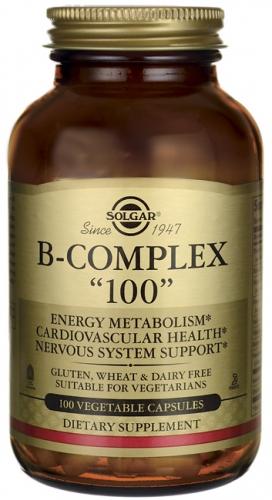 B-Complex 100 Veggie Caps - Solgar