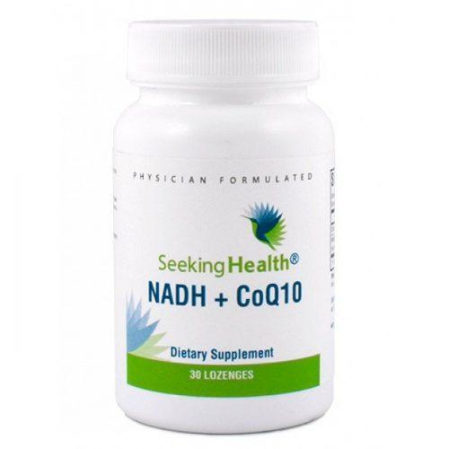 NADH + CoQ10- 30 Lozenges - Seeking Health
