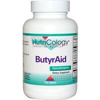 ButyrAid / ButyrEn 100 Tablets - Nutricology / ARG