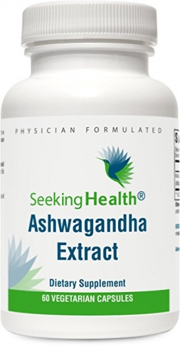 Ashwagandha Extract - 60 Vegetarian Capsules - Seeking Health