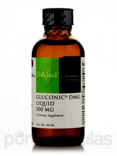 DMG Liquid (Gluconic / Aangamik) - (300mg/ml) - 60ml - Da Vinci / Food Science