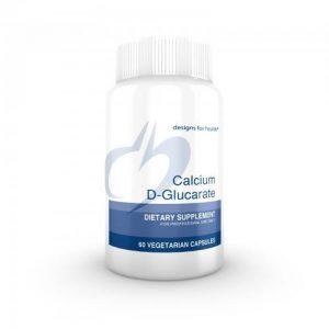 Calcium-D-Glucarate 60 capsules - Designs for health - SOI*